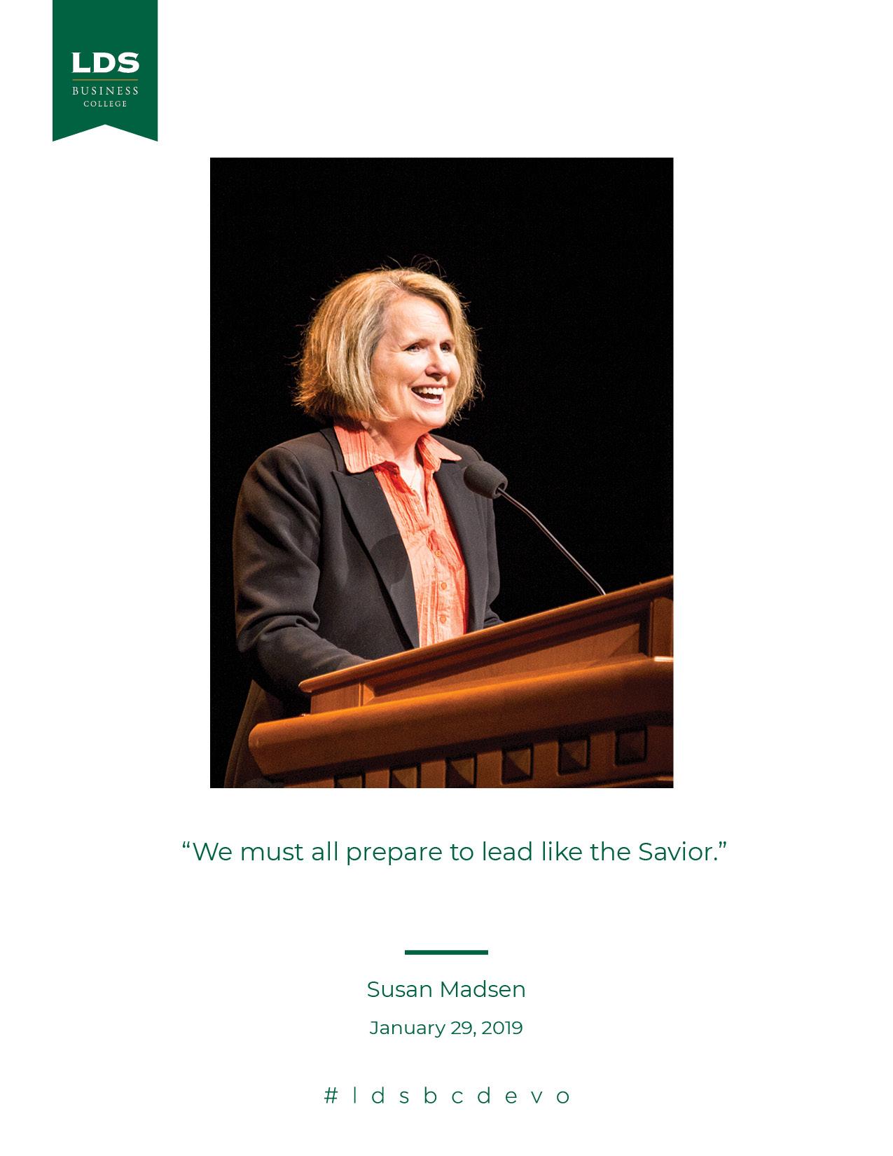 Susan Madsen quote