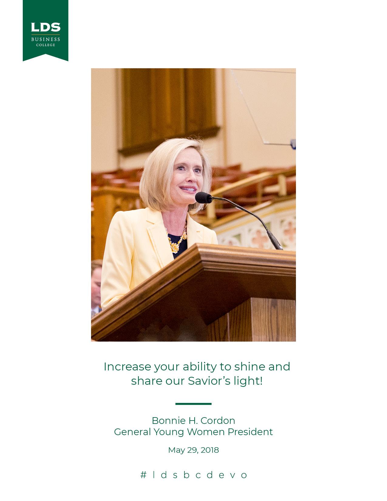 Bonnie Cordon quote