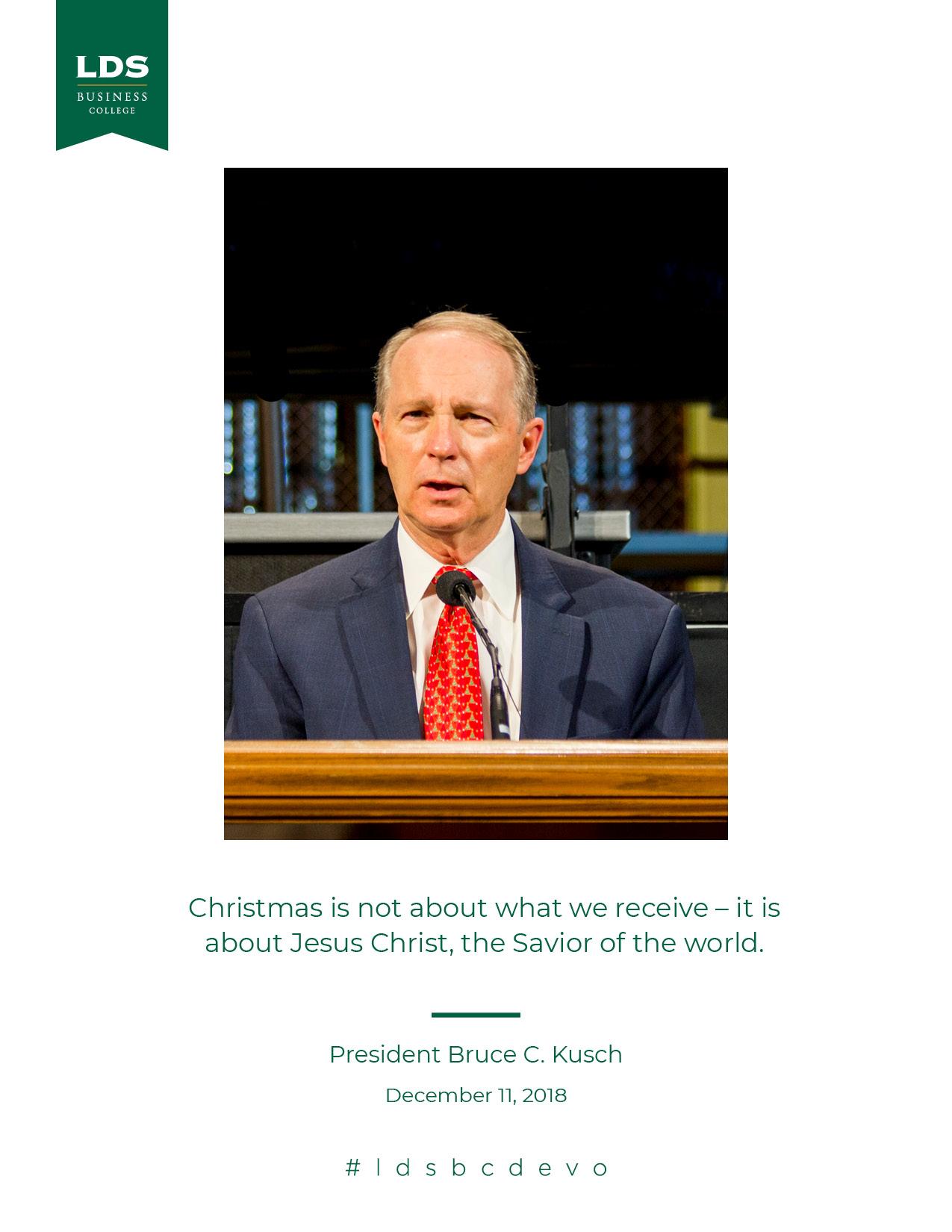 President Kusch quote