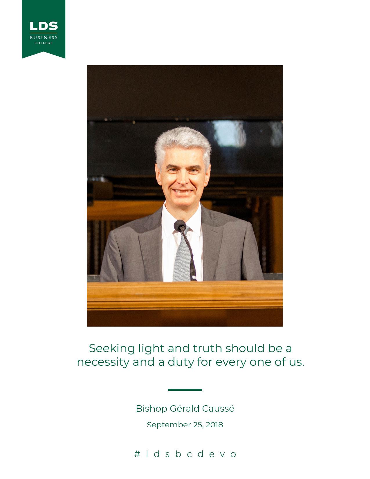 Bishop Causse Devotional Quote