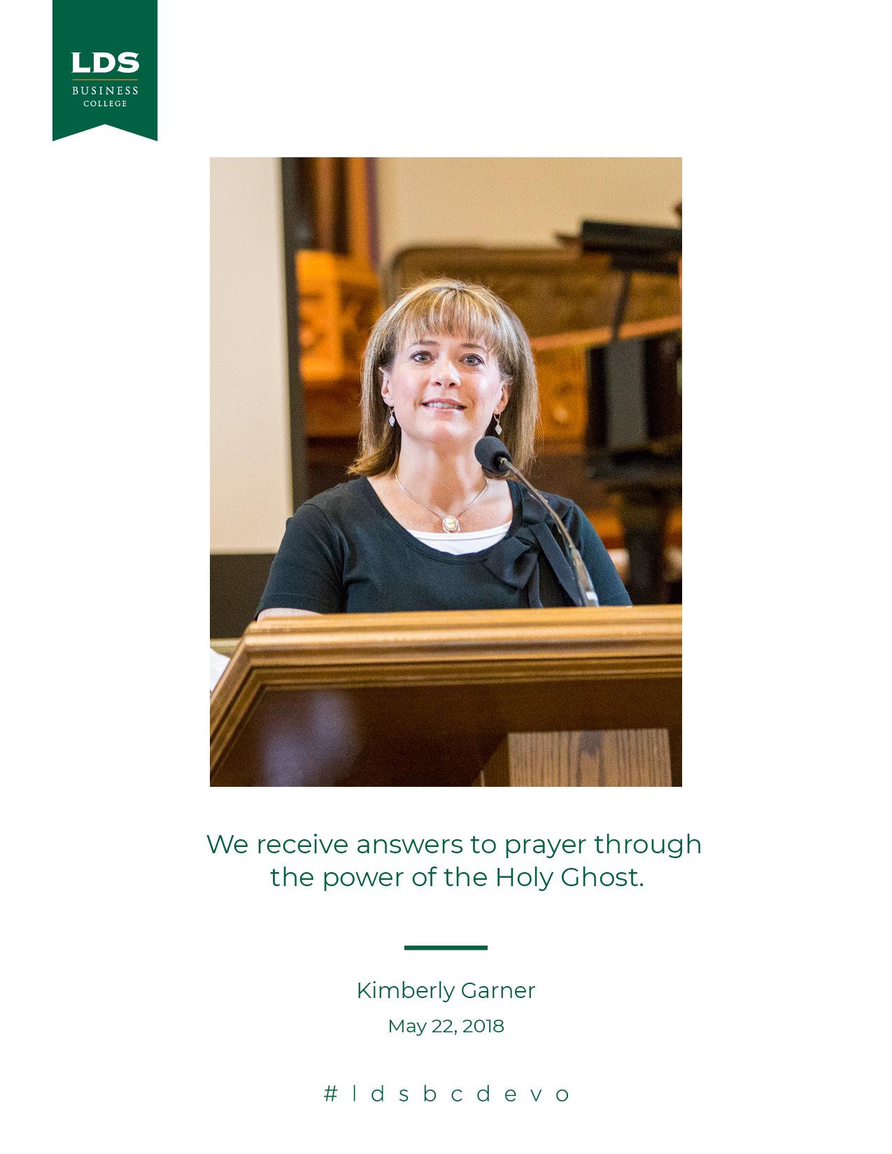 Kimberly Garner quote