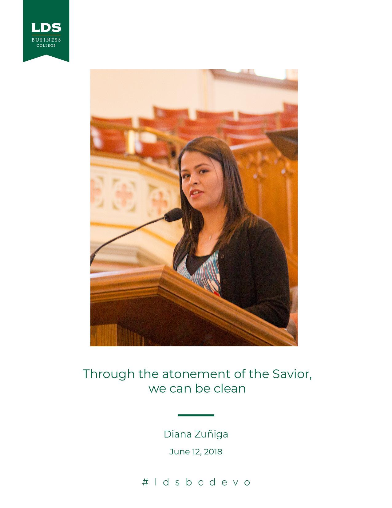 Diana Zuniga quote