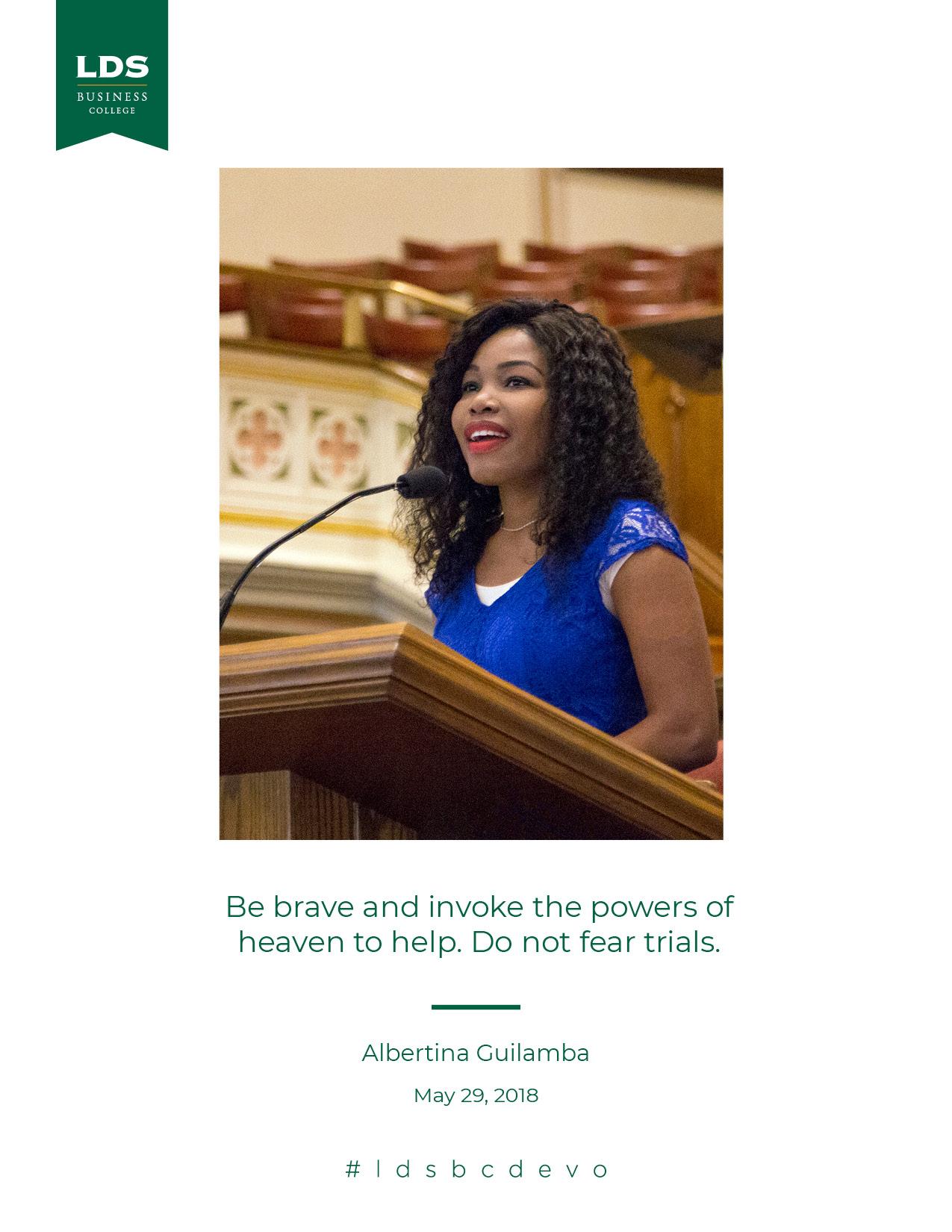 Albertina Guilamba quote