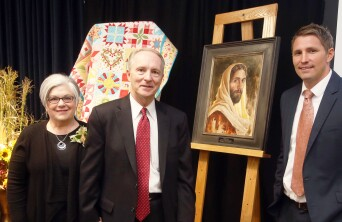 Don Wilson with President and Sister Kusch