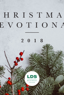 Christmas Devotional 2018