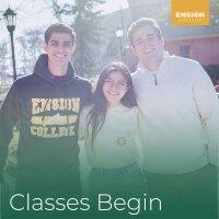 Classes Begin