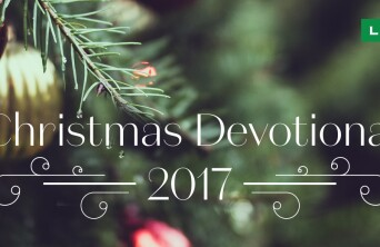 Christmas Devotional 2017 banner image.