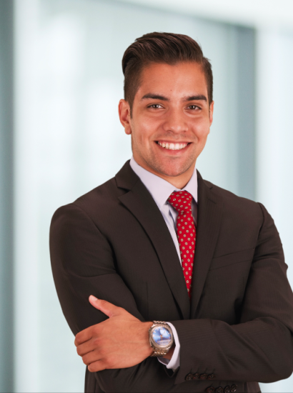 young male business manager