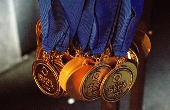 DECA medals