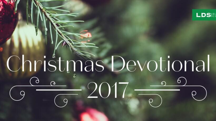 Christmas Devotional 2017 banner image.