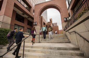 Ensign College steps