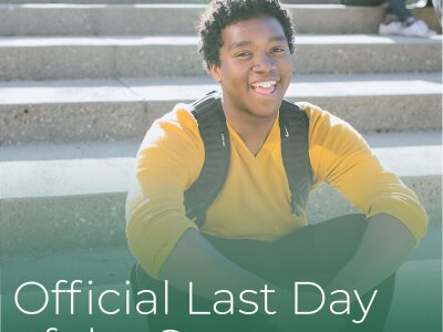 Official Last Day of the Semester