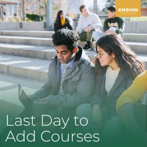 Last day to add or drop a class