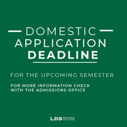 Domestic Application Deadline
