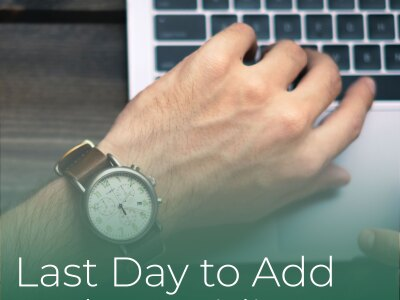 Last Day to Add to the Waitlist
