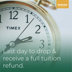 Last Day to Drop and Receive a Full Tuition Refund
