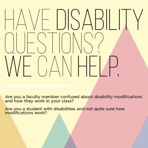 Disability Modification Workshop