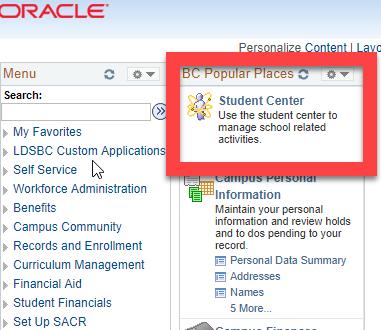 ORACLE Screenshot