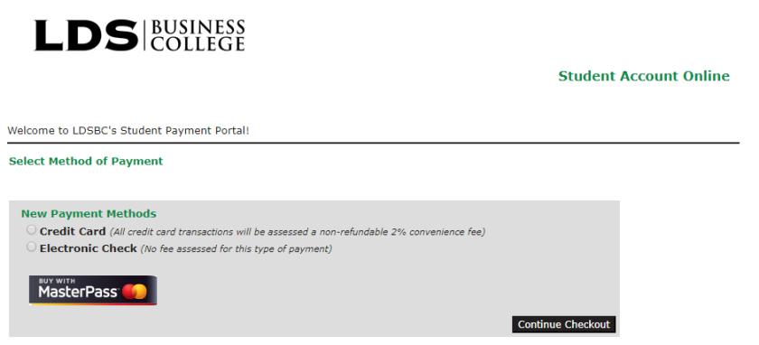 Ensign College Screenshot