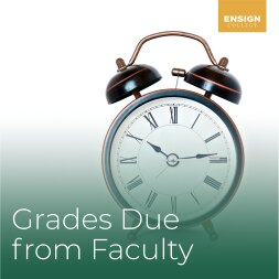 Grades Due from Faculty