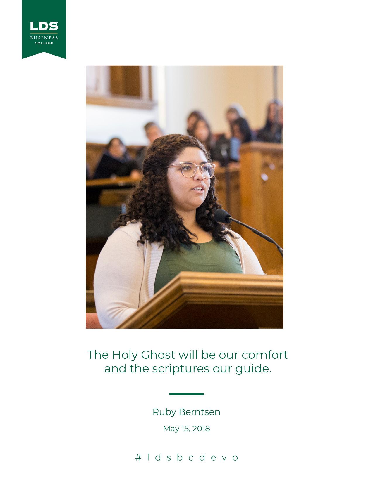 Ruby Berntsen quote